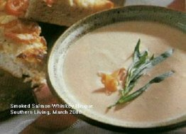 Smoked Salmon-Whiskey Bisque, Southern Living, March 2000